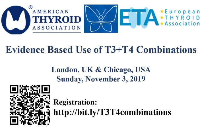 Evidence based use of T3 and T4 combinations